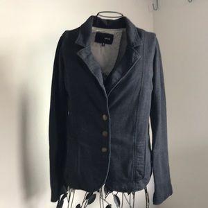 Hurley soft cotton blazer size m